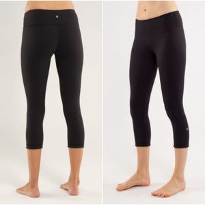 Lululemon  Reversible Wunder Under Crop